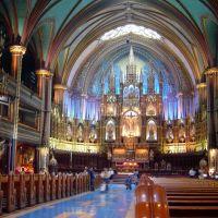 CANADA CANADA Basílica de Nuestra Señora Montreal, Монреаль