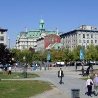 Place Jacques Cartier & Hôtel de Ville, Montréal, Монреаль