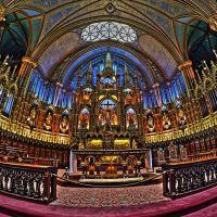 Basilique Notre-Dame de Montréal, Décoration intérieure, Монреаль