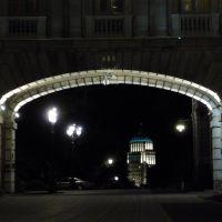 édifice Price vu du Parlement la nuit, Пиррифондс
