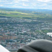 Aerial vue of Rimouski, Римауски