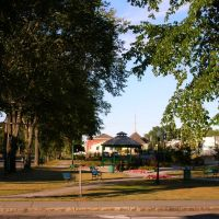 Parc de la Gare, Rimouski, Римауски