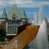 Gare du Palais à Québec, Роуин