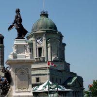 Statue de Champlain, Сант-Хуберт