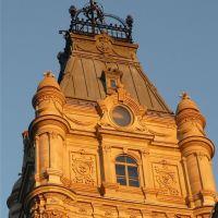Tour du Parlement au soleil couchant, Чикоутими