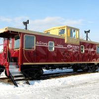 Orford express ticketing caboose, Шербрук