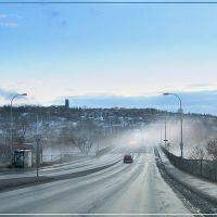 Fog over the bridge, Шербрук