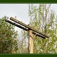 Old telegraphic pole, Шербрук