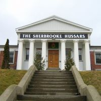 The Sherbrooke Hussars regiment, Шербрук