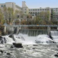 Chute de la rivière Magog, Шербрук