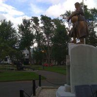 Victoria Park Memorial, Moncton, NB, Canada, Монктон