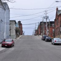 Wentworth st looking up north - Saint John NB 2009, Сент-Джон