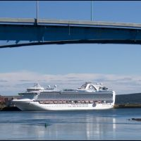 Emerald Princess, Saint John, NB, Сент-Джон
