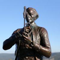 Corner Brook Captain Cooks Lookout Statue, Корнер-Брук
