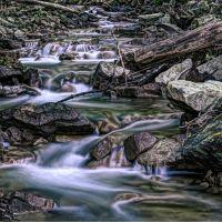 Downstream at Sherman Falls, Анкастер
