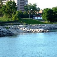 Waterfront East of Spencer Smith Park, Burlington Canada, Барлингтон
