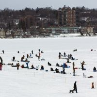 Tourism Barrie, Ice Fishing Festival on Kempenfelt Bay, Барри