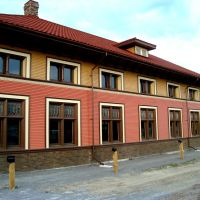 BACK OF THE NEW BARRIE TRAIN STATION, Барри