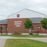 Brampton Memorial Arena (Brampton, ON), Брамптон