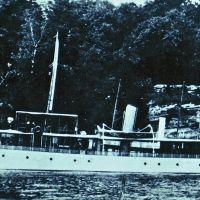 Fulford Boathouse, steam yacht Magedoma, Броквилл