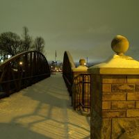 Pedestrian Bridge at Waterloo Park - Waterloo, ON, Ватерлоо
