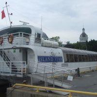 Am Hafen von Kingston (Ontario), 25. Juni 2009, Кингстон