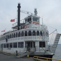 Kingston am Ontario-See im Fährhafen am 25. Juni 2009, Кингстон