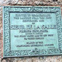 Sieur De La Salle commemorative rock, Ла-Саль