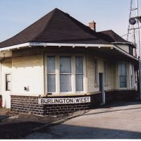 Freeman Station, (also Burlington West) Before it was Moved, Ла-Саль