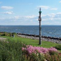 """""""Le Droit-à-la-Différence"""" Sculpture (1991), North Bay, Норт-Бэй"""