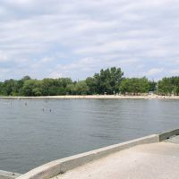 City of North Bay, Ontario public beach - Lake Nipissing, Норт-Бэй