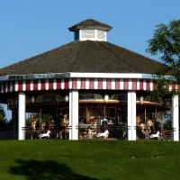 Heritage Carousel in North Bay, Canada, Норт-Бэй