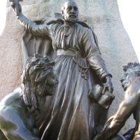 Champlain Monument Sculpture, Orillia, Ontario, Ориллиа