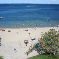 Couchiching Beach from ferris wheel, Ориллиа