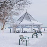 couchiching park in winter-2, Ориллиа