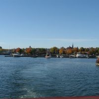Leaving Orillia for the last time in the 2008 boating season., Ориллиа
