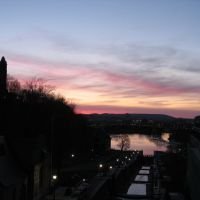 Rideau canal at sunset - April 2007, Оттава