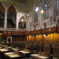 The Parliament. The House of Commons Chamber / Ottawa, Canada, Оттава