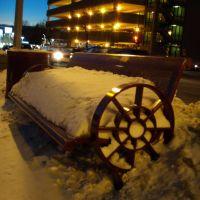 Snowy Bench, Ошава