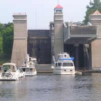 Peterborough Lift Lock, Peterborough, Ontario, Петерборо