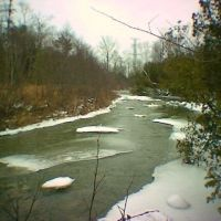 Ice on Duffins Creek III, Пикеринг