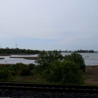 Frenchmans Bay view from the train, Пикеринг