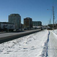 Mid-Winter on Highway 7-West Beaver Creek, Richmond Hill, Ontario, Ричмонд-Хилл