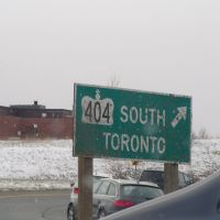 Road Sign, Ричмонд-Хилл
