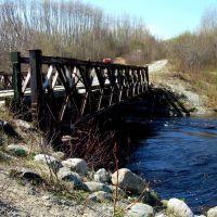 Grassy River Bridge - Looking SouthWest, Садбури