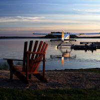 Ivanhoe Lake at Air Ivanhoe River Inn, Садбури
