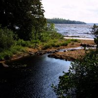 Creek Feeding Rush Lake, Садбури