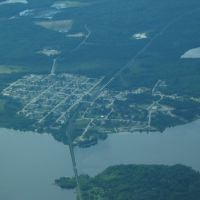 Gogama, ON from the air, Садбури