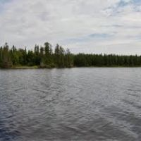 Peterlong Lake 180º Pano - looking North to South(right), Садбури