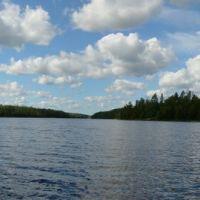 Rush Lake Panorama  - Looking NorthWest, Садбури
